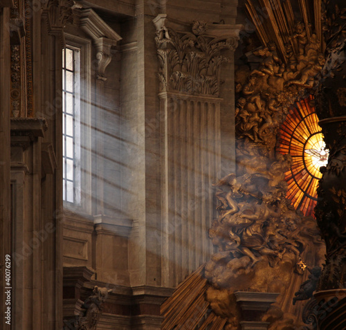 Rays of Light in St. Peter's