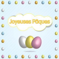 Joyeuses Pâques multi fr
