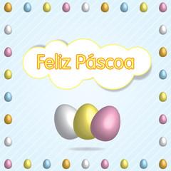 Feliz Páscoa multi pt