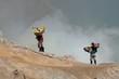 Mineur à Kawah Ijen