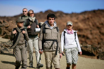 Group of trekkers