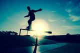 Fototapeta nastolatek - drewno - Sporty Letnie