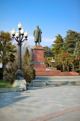 Monument to Lenin. Yalta, Ukraine