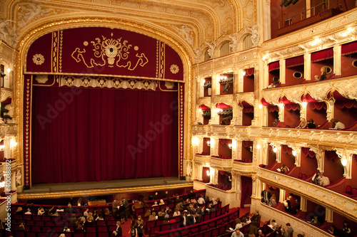 Foto op Plexiglas Theater Interior of Opera house in Odassa, Ukraine