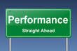 performance traffic sign