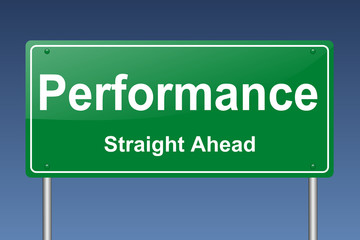 performance traffic sign