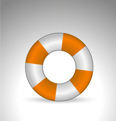 vector Life Float icon