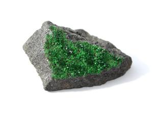 Uvarovite - green garnet