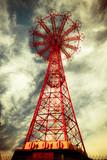 Historic Abandoned Coney Island Brooklyn Parachute Jump - 40095478