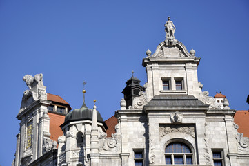 Neues Rathaus Leipzig Detail
