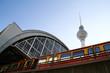 Leinwanddruck Bild - Bahnhof Alexanderplatz