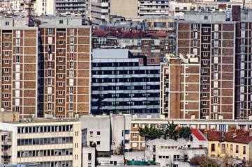 Immeubles de banlieue
