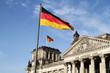Leinwandbild Motiv Reichstag Berlin