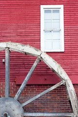 Water Wheel and Red Siding