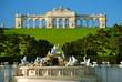 Leinwandbild Motiv Gloriette, parco di Schönbrunn, Vienna