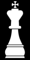 Schachfigur - König