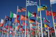 Leinwandbild Motiv Flaggen der Welt