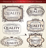 premium quality retro concept design