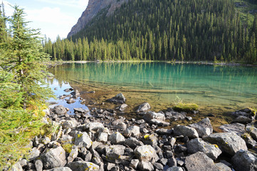 O'Hara Lake in Yoho National Park, Canada