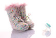 homemade baby-shoes with soother