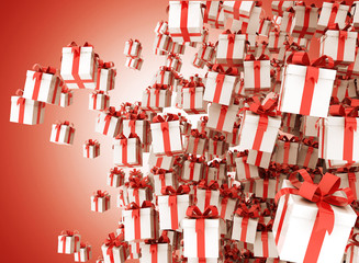 Gifts - group of presents