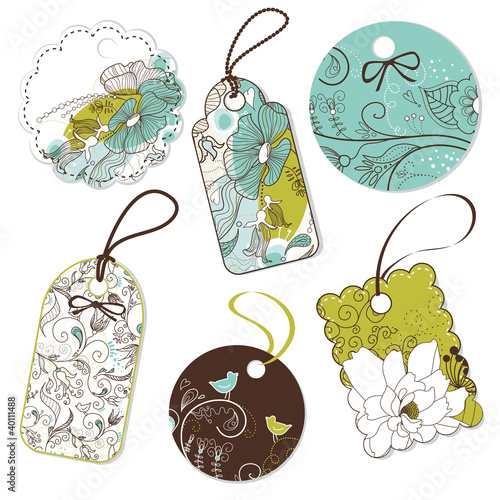 Collection of cute Tags