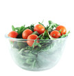Rucola ,Chard and cherry tomatoes salad