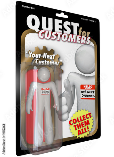 Quest for Customers Action Figure Sales Success
