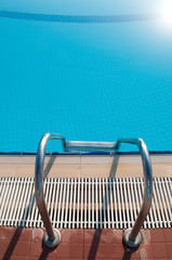 Water pool - vacation background