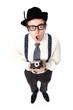 Old fashioned photographer