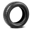 Tire isolated on the white background
