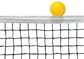 filet de Tennis_Balle