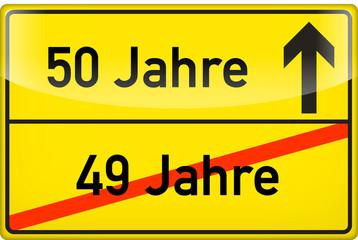 50 Jahre (Geburtstag, Goldene Hochzeit o.ä.)