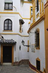 Barrio de Santa Cruz en Sevilla