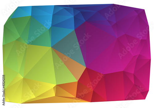 abstract colorful vector background - 40124258