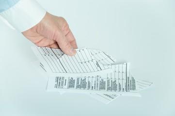 Porwany dokument podatkowy