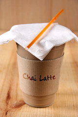 chai latte to go