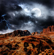 Dark fantasy landscape - 40125683