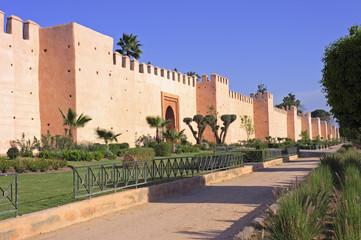 Wall of Marrakesh