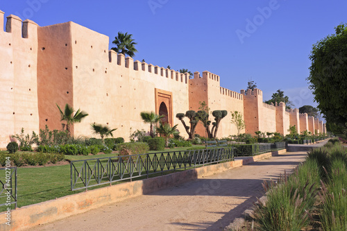 Wall of Marrakesh