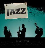 Fototapety Jazz background