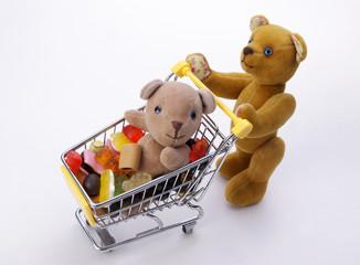медведи в супермаркете