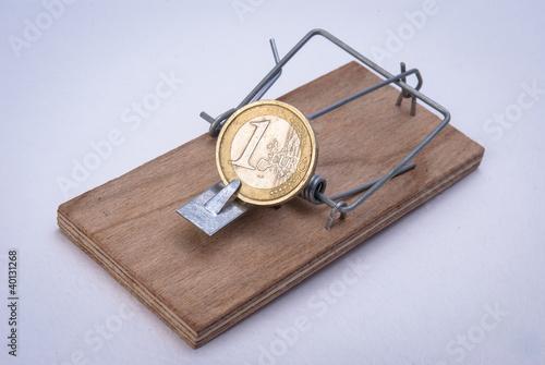 монета в мышеловке