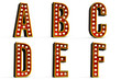 Alphabet Set - Part 1 - clipping path included for each letter
