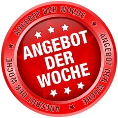 """Button """"Angebot der Woche"""" rot"""