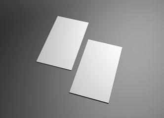 vertical namecard frame