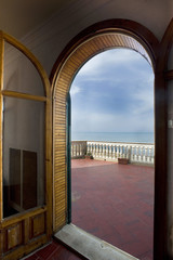House of Montalbano film set