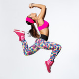 Fototapeta taniec - kobieta - Zdrowie / Gimnastyka / Taniec