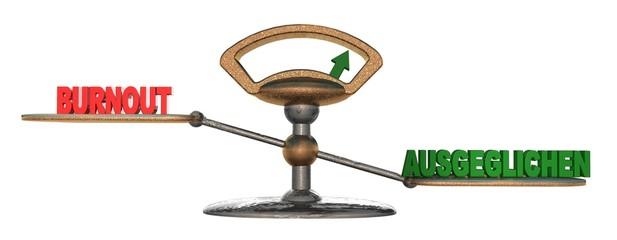 3D Waage2 - BURNOUT - AUSGEGLICHEN