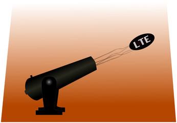 LTE Kanone